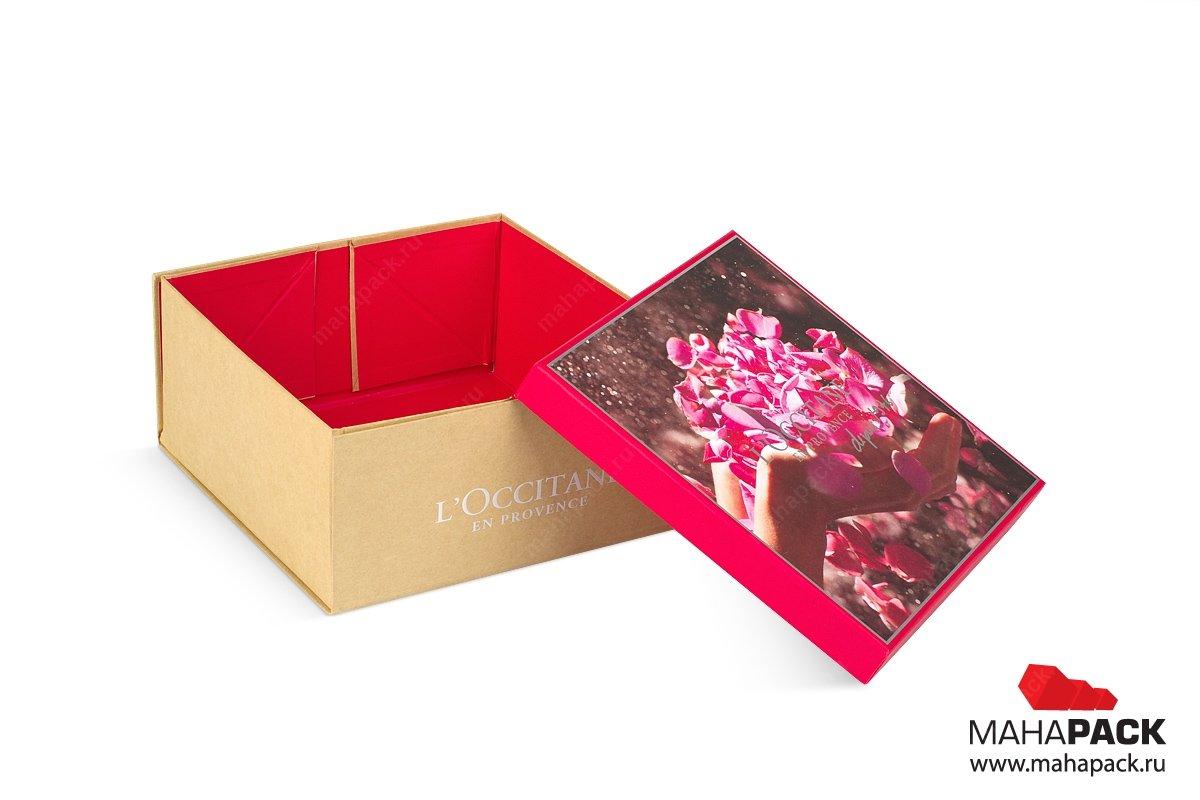 подарочная упаковка для косметики - дизайн и производство