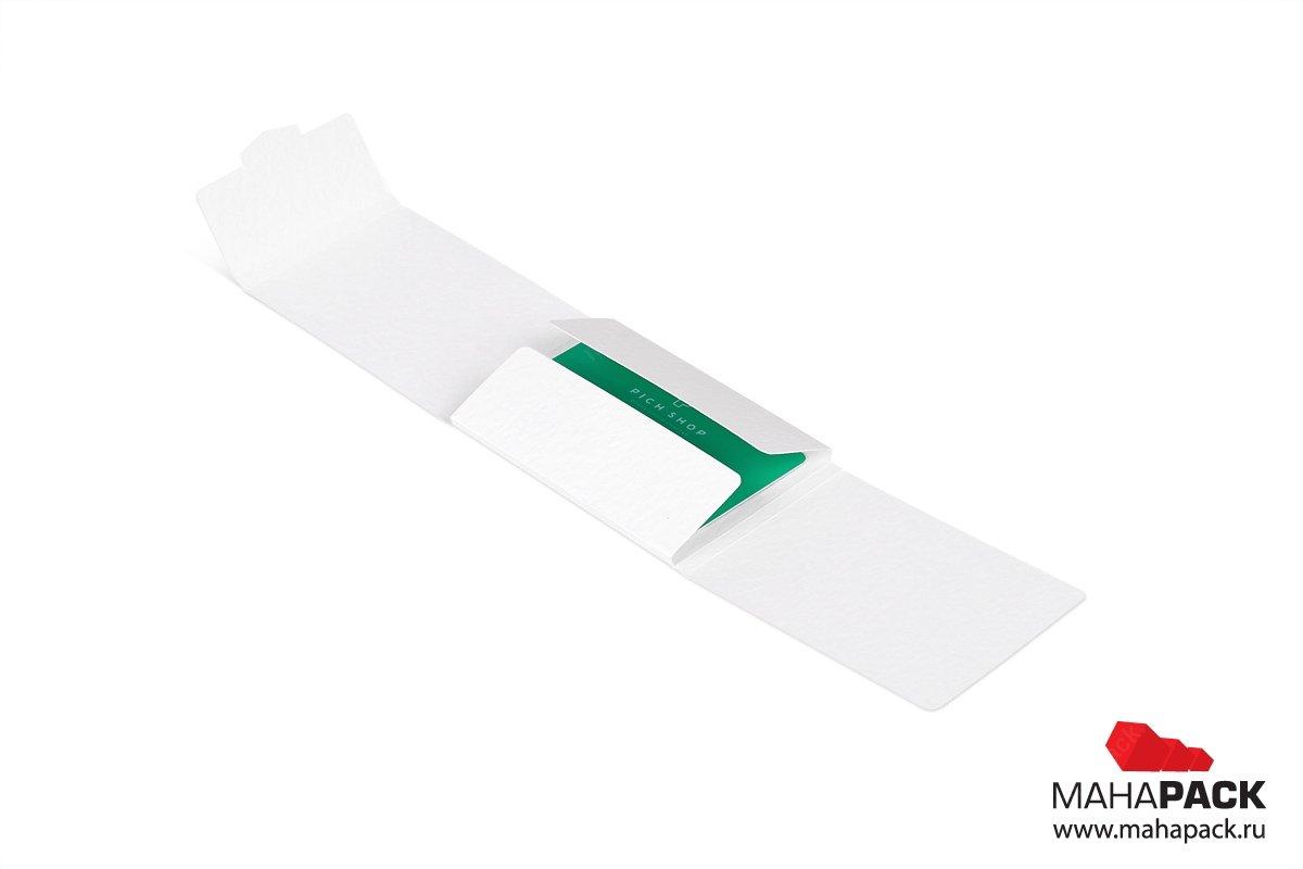 картонная упаковка на заказ для подарочной карты