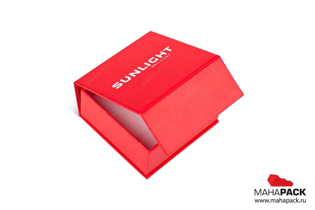ювелирная упаковка с ложементом и на магните