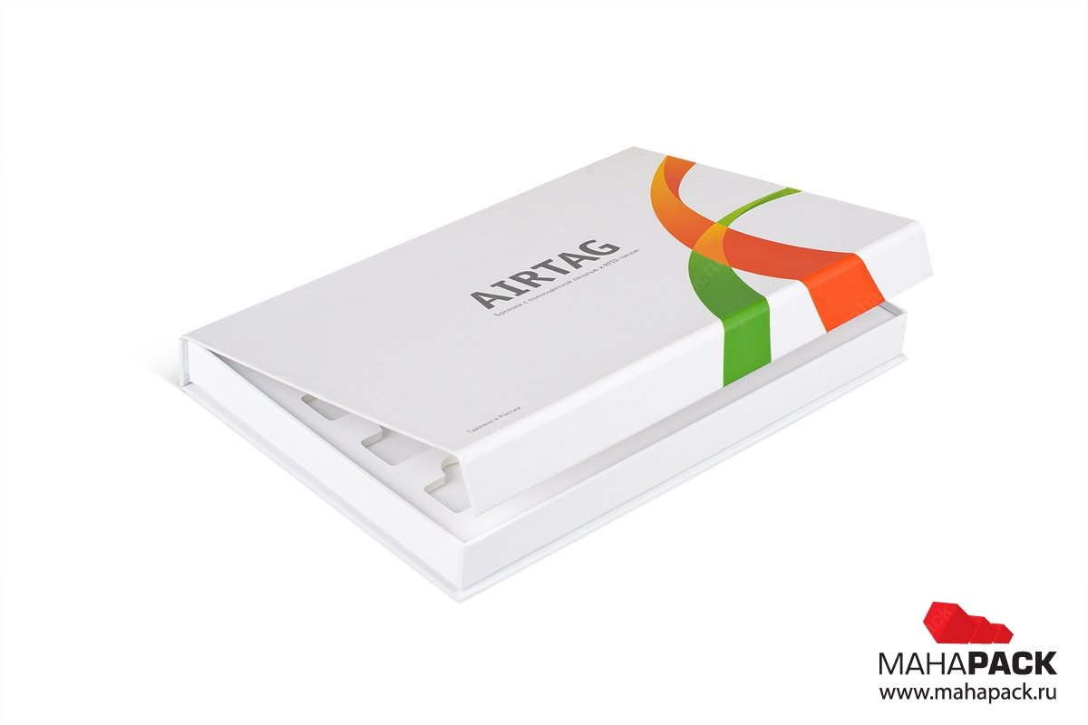 коробка на магните - упаковка для брелков