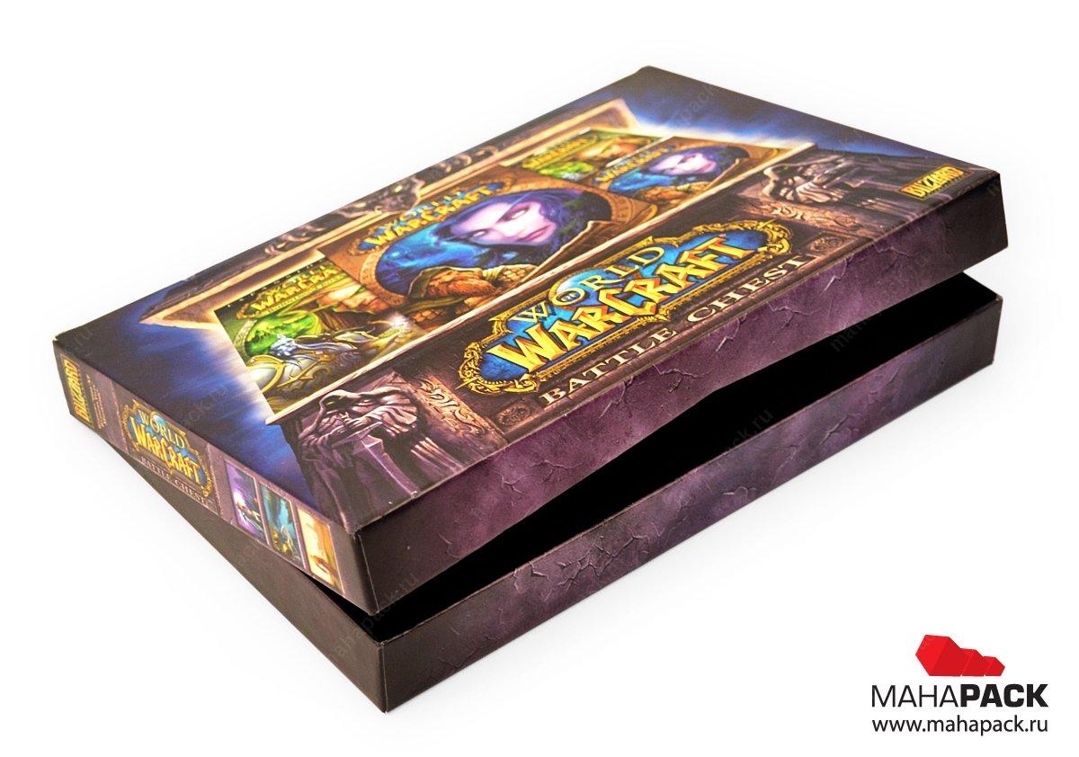 Индивидуальная коробка для компьютерной игры
