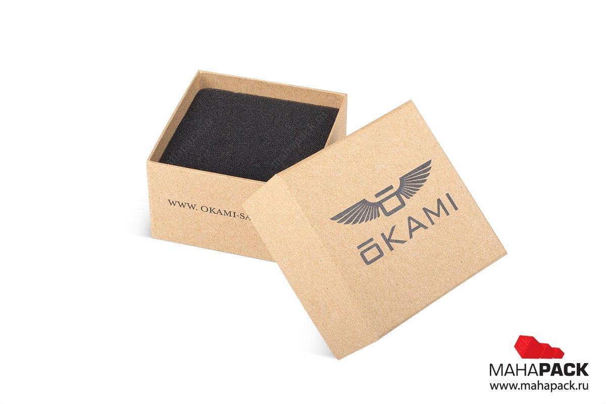 подарочная ювелирная упаковка с изолоновым ложементом