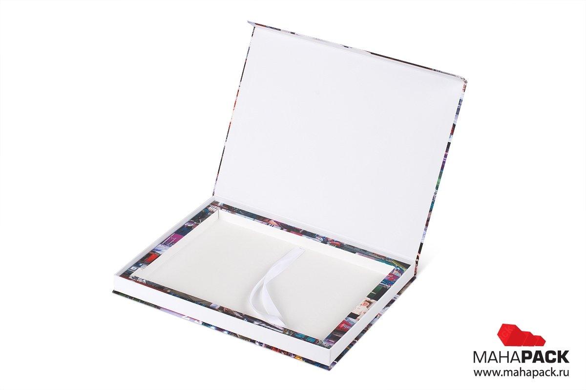 папка для образцов с картонным ложементом