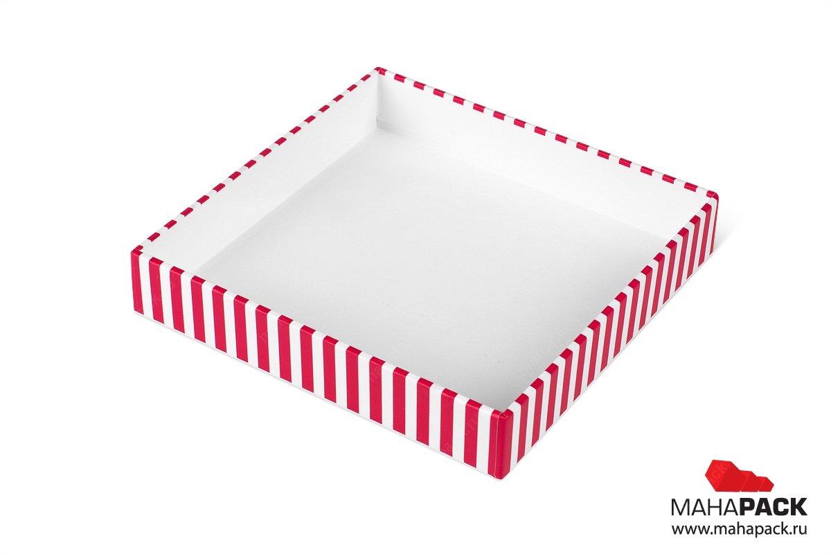 коробка крышка дно для кондитерских изделий