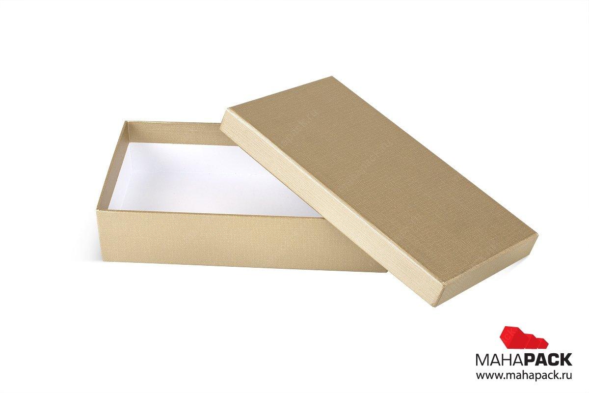 подарочная упаковка для платка -  коробка крышка-дно