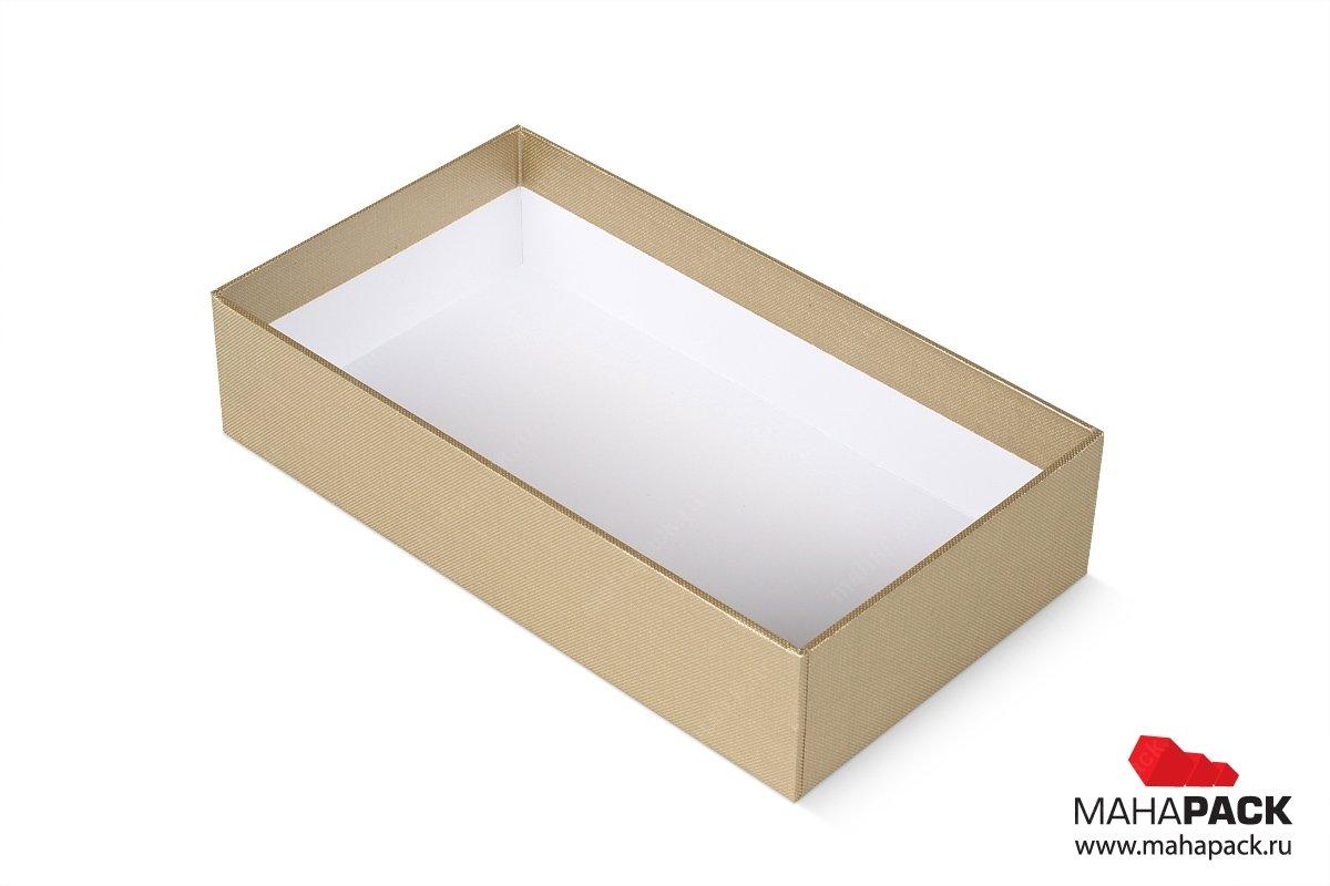 упаковка подарочная для корпоративного подарка - коробка крышка-дно