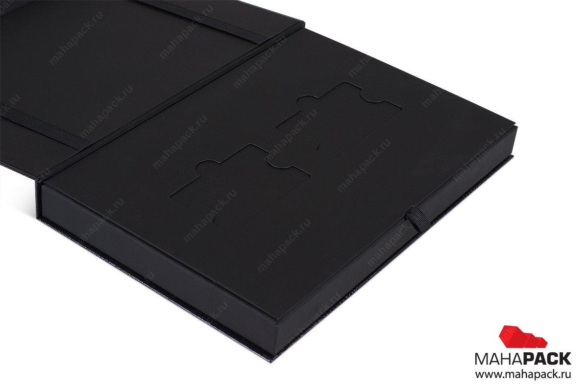 подарочная коробочка для банковских карточек из дизайнерского картона