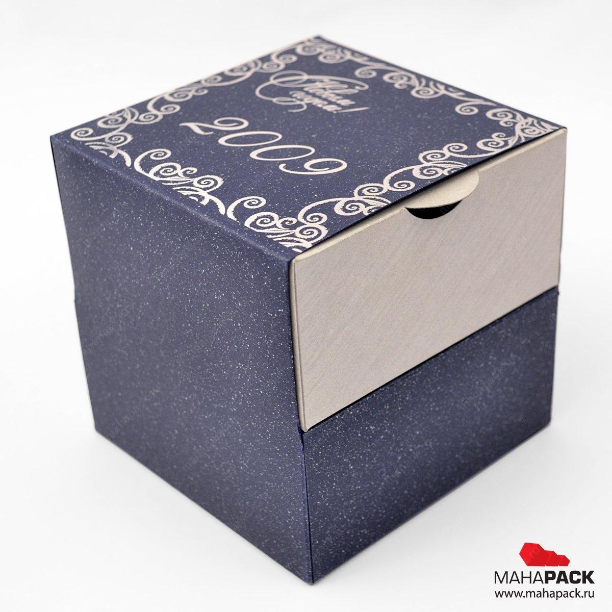 Упаковка-комодик из дизайнерской бумаги