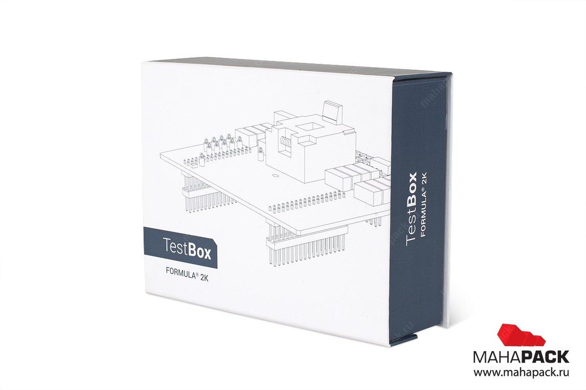 брендированные коробки для оборудования с магнитным клапаном