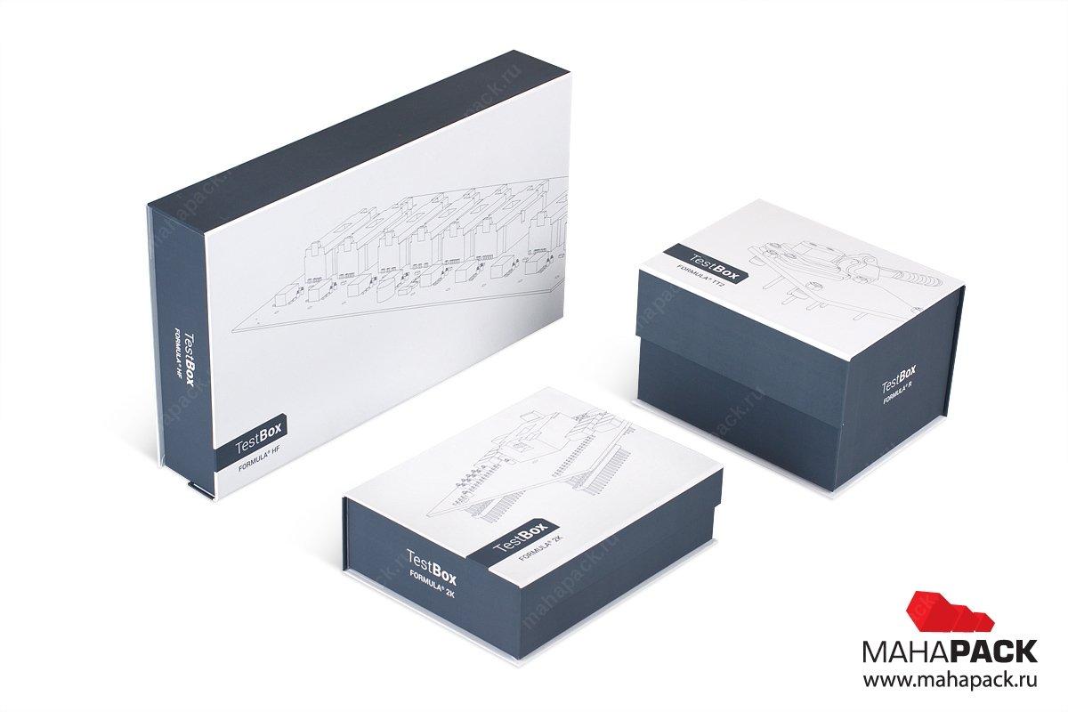 кашированная упаковка для бизнеса с обуродованием