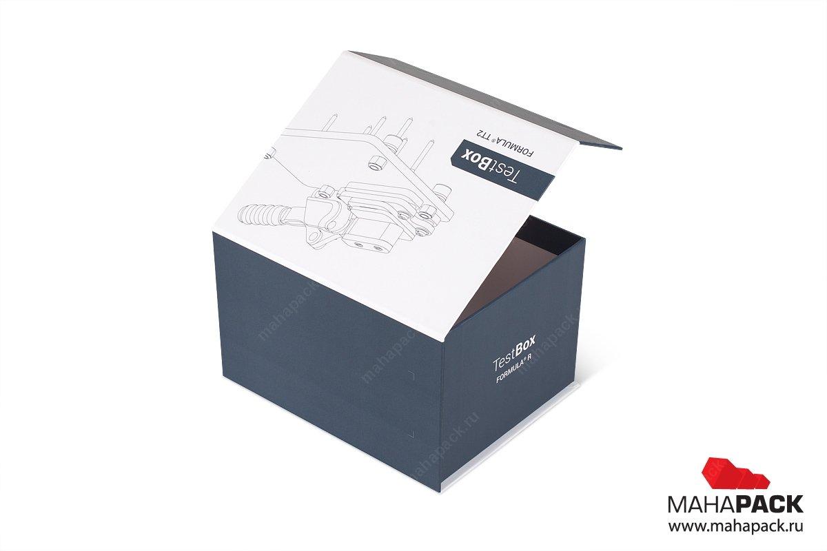 коробки с крышкой на магните