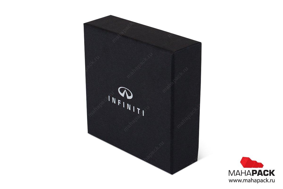 коробочка подарочная крыщка-дно с изолоновым ложементом