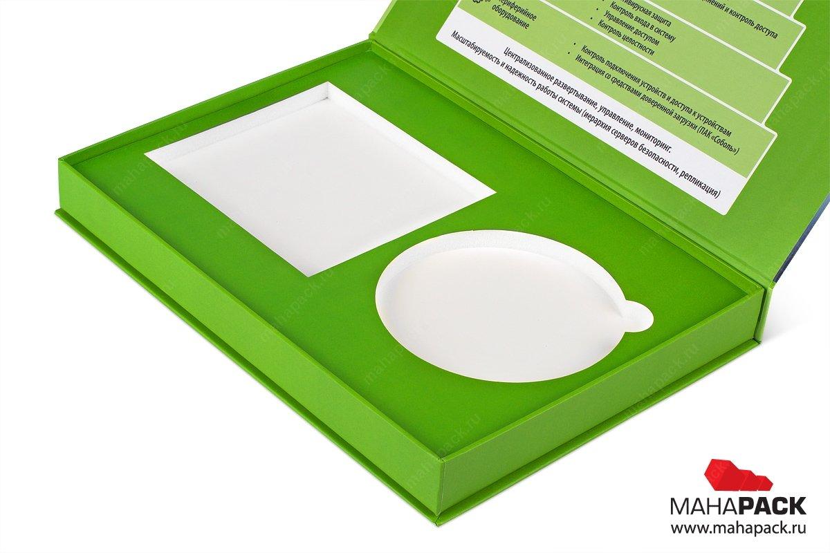 печать на коробках с ложементом