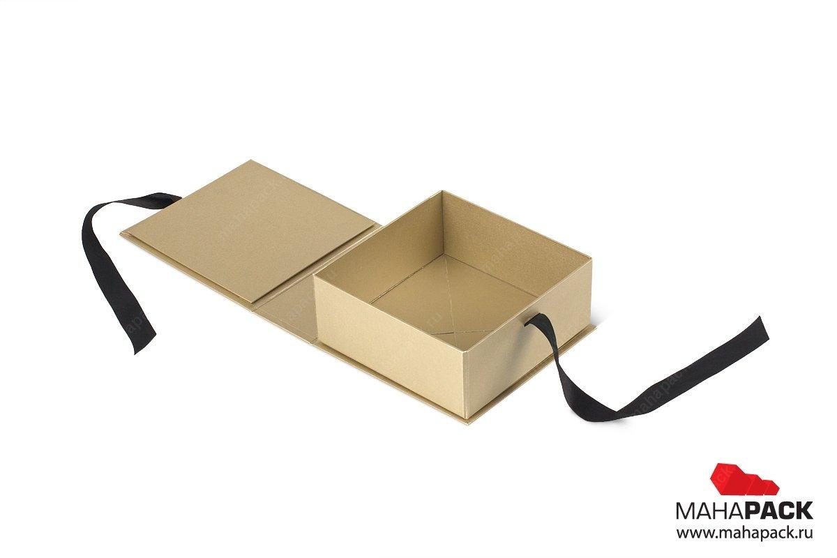 подарочная упаковка - коробки с лентами