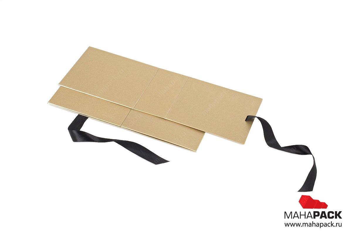 подарочные кофробки с лентами - производство большим тиражом
