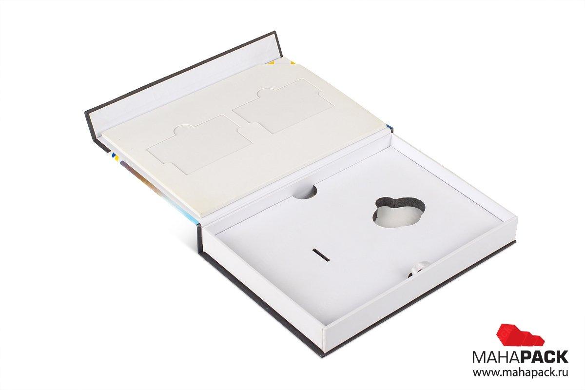 коробка с ложементом - заказать разработку и печать