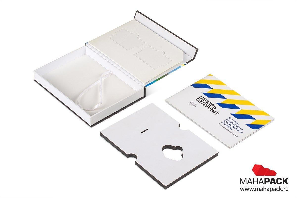 коробки из переплетного картона для электроники