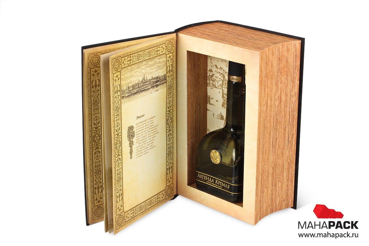коробочка подарочная для алкоголя