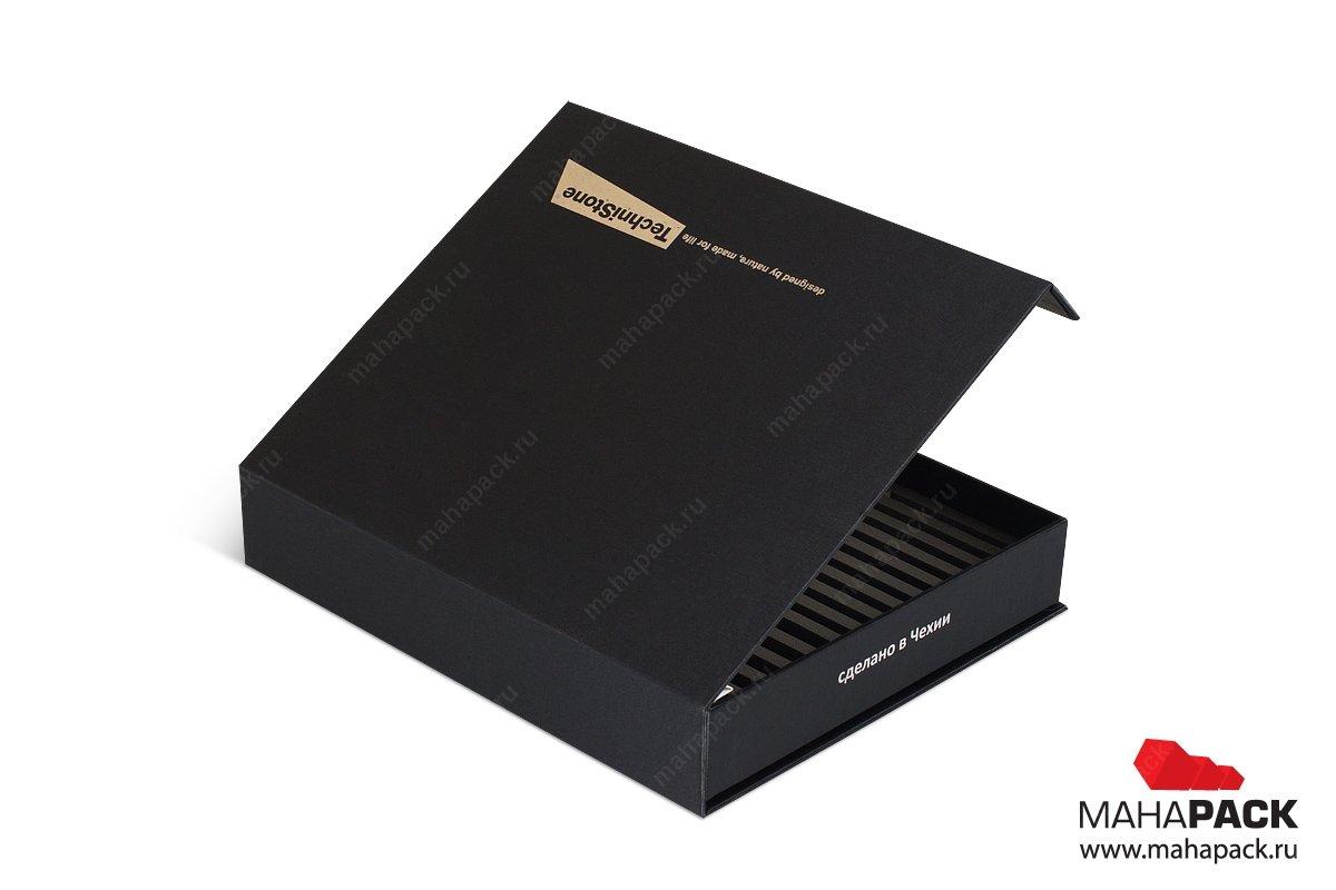 коробки и папки для образцов продукции
