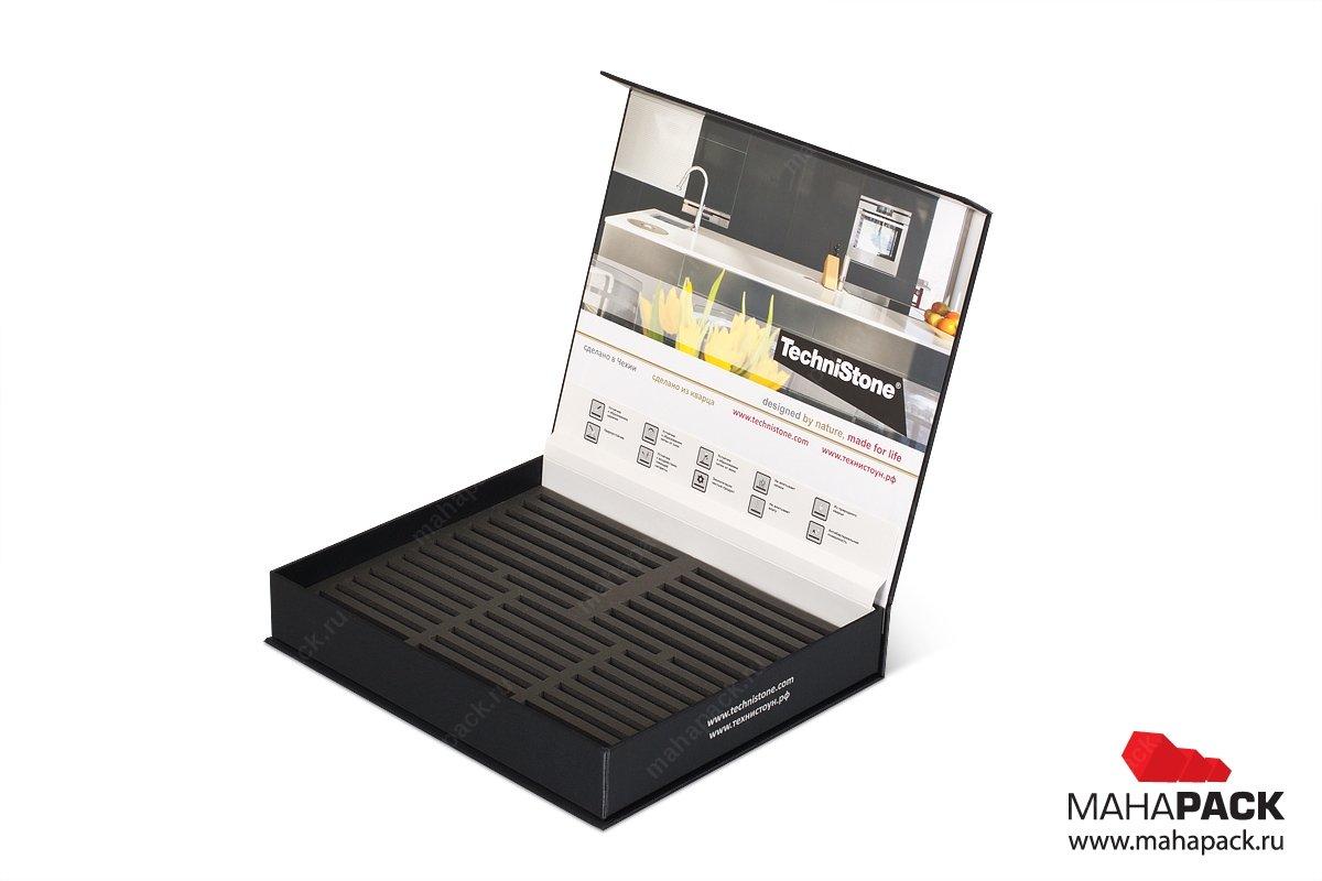 коробка и папка для образцов продукции