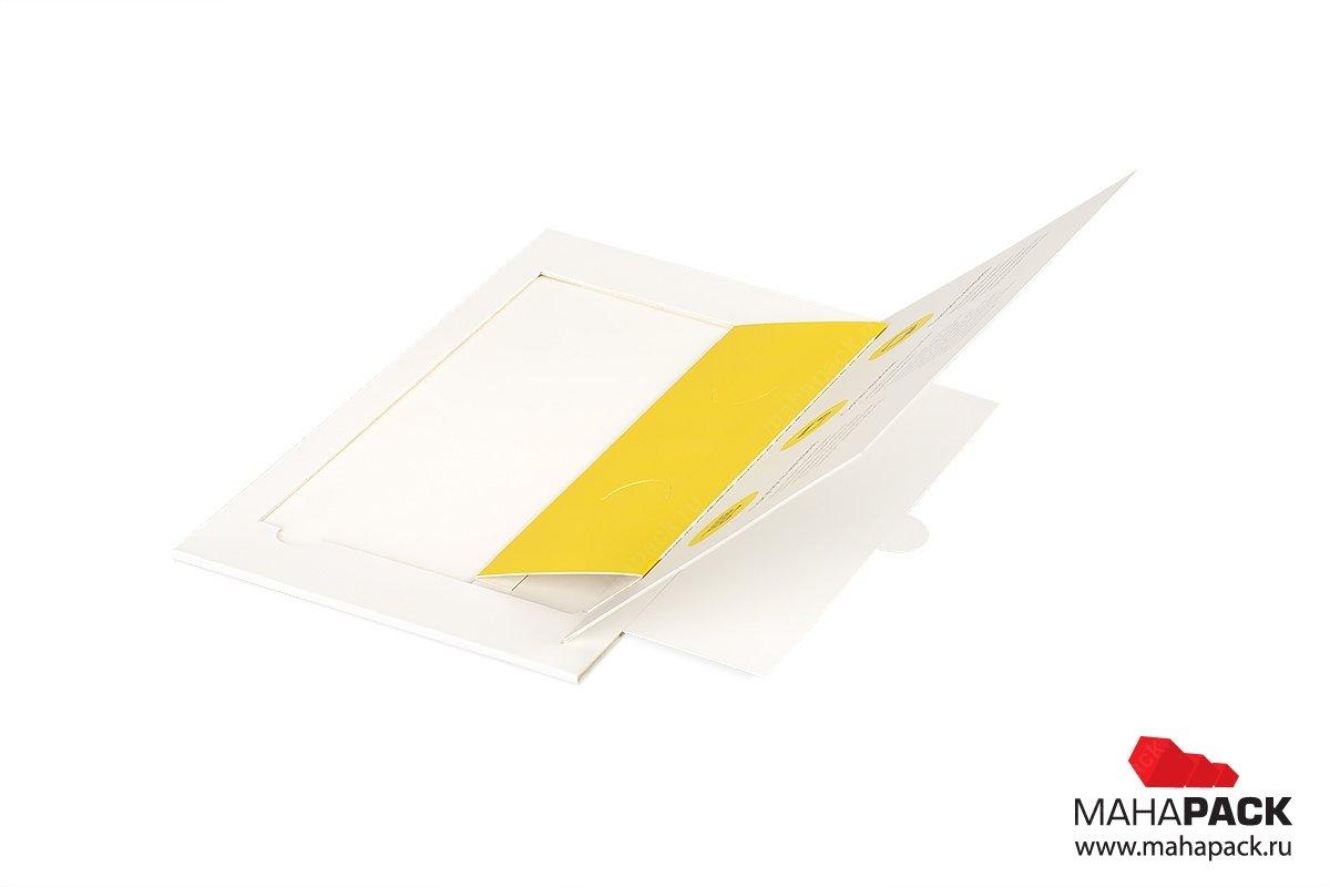 упаковка для подарочных карт банка