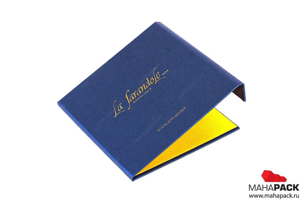 упаковка для подарочных карт на магните