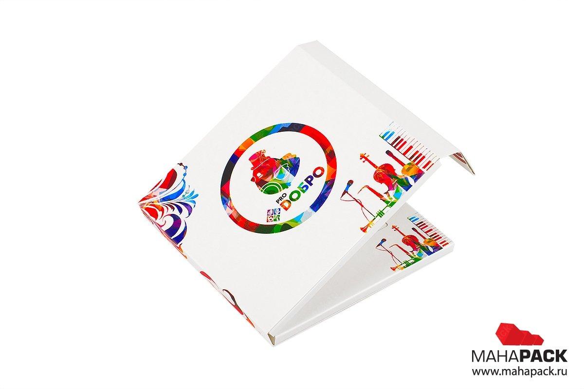 коробки из переплетного картона для пластиковой карты