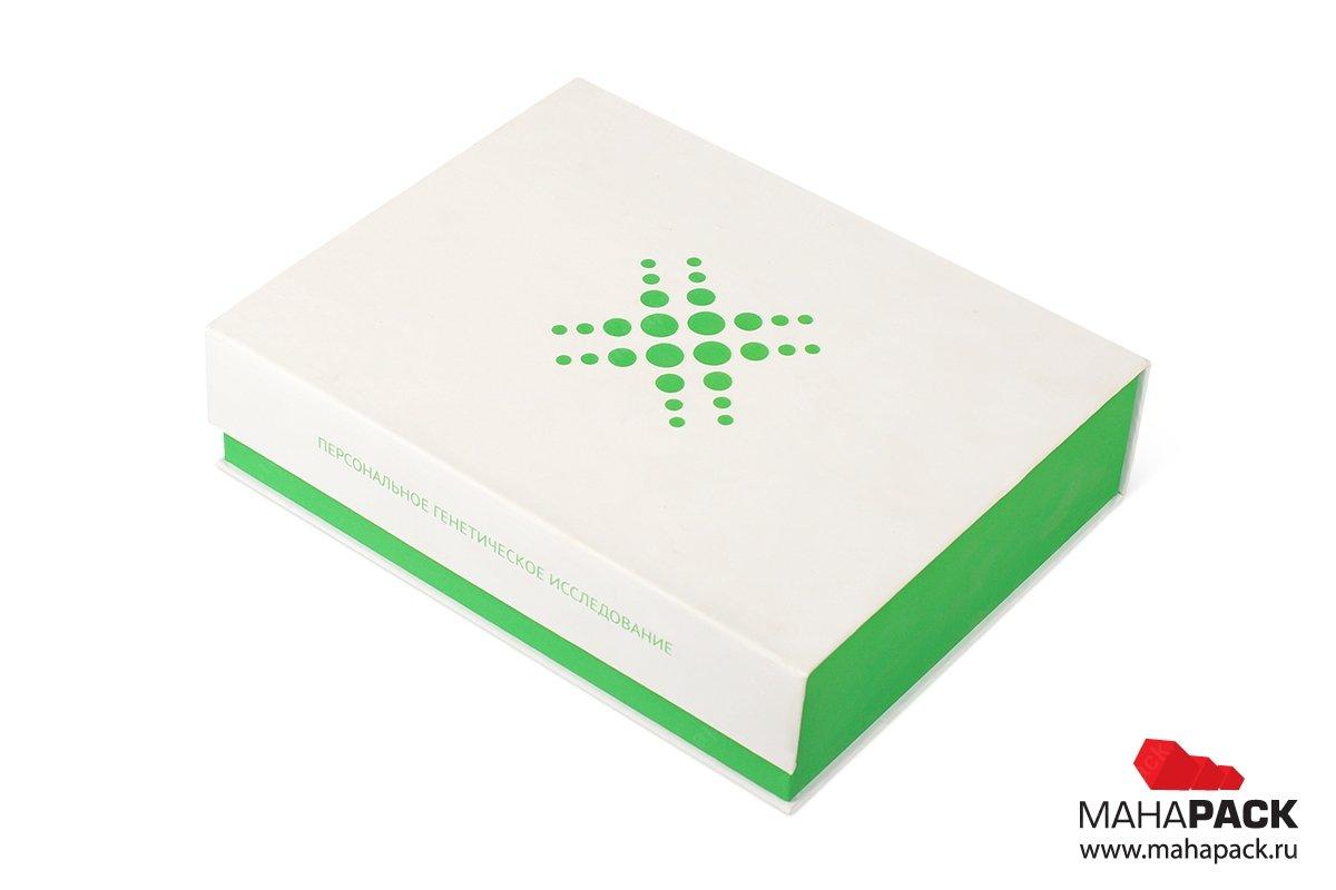 коробки из переплетного картона на магните