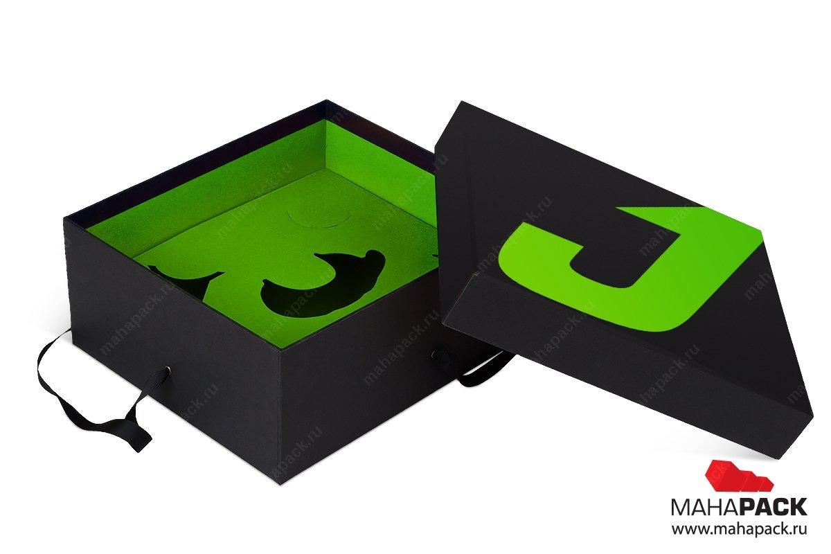 изготовление коробок подарочных большим тиражом