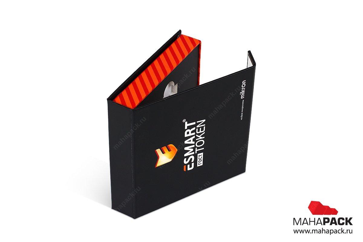 коробка с клапаном на магните - дизайн и изготовление