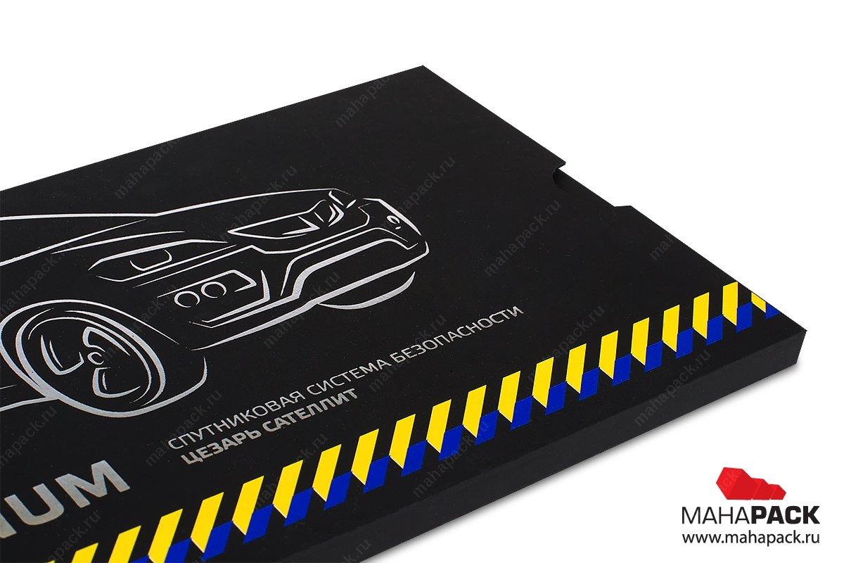коробка и упаковка для пластиковых карт