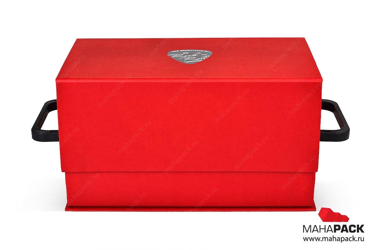 коробки подарочные на заказ с ручками