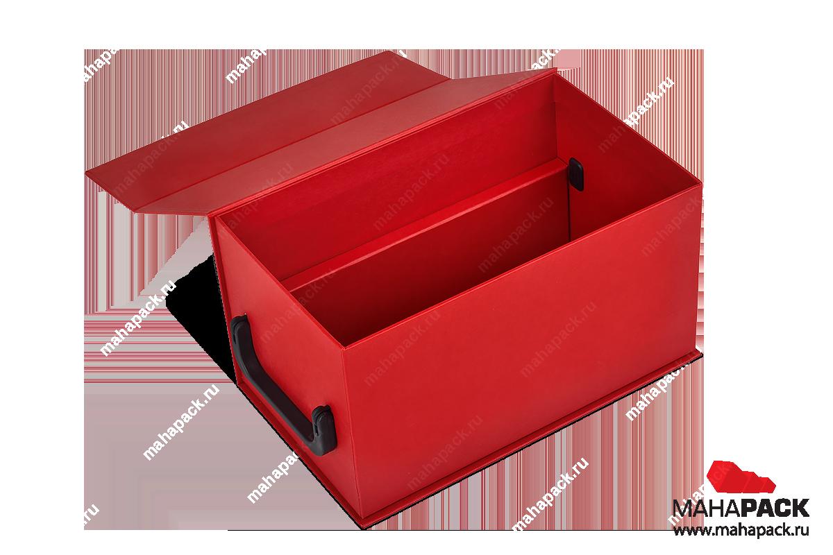 упаковка подарочная - коробка с двойными бортами