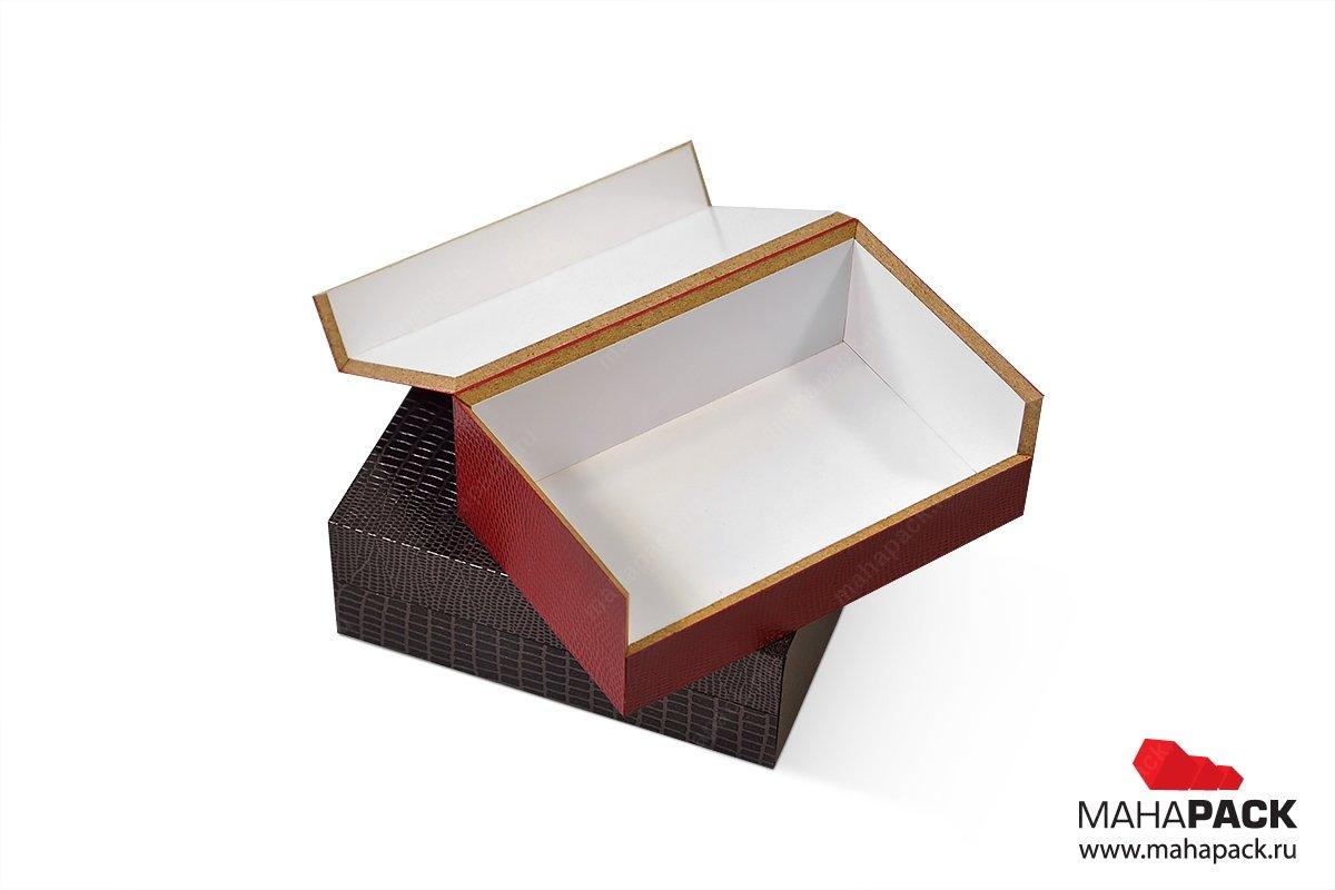 подарочная деревянная упаковка с фурнитурой