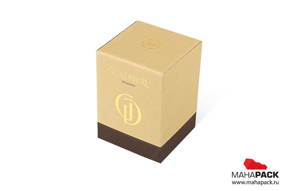 подарочная упаковка из картона с ложементом