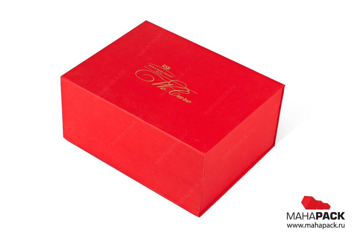 коробка на магните - упаковка для подарочного набора