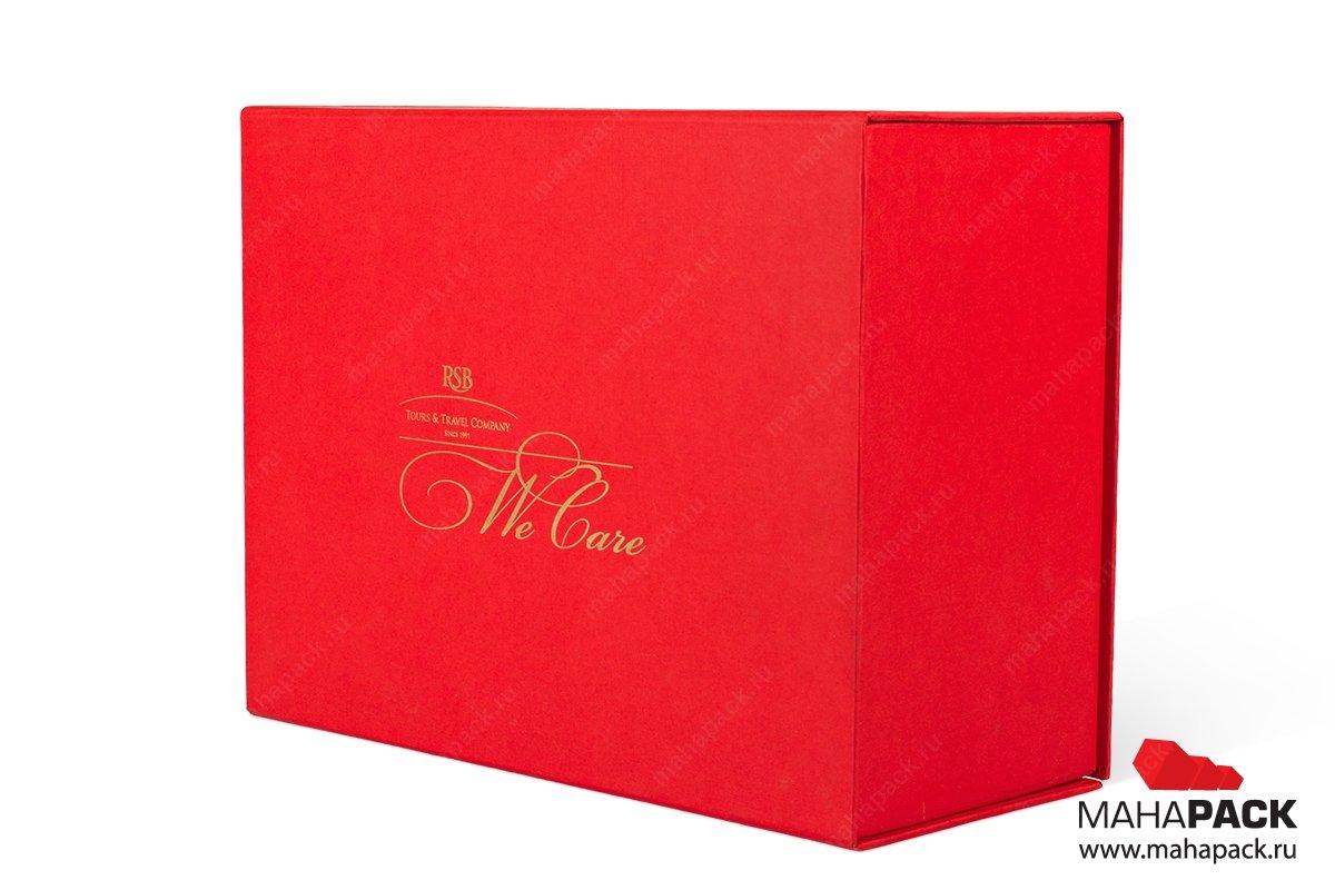 коробка с картонным ложементом - упаковка для подарочного набора