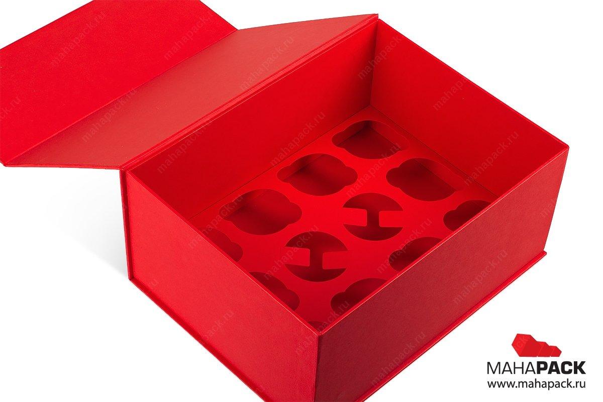 изготовление коробок для сувениров с картонным ложементом
