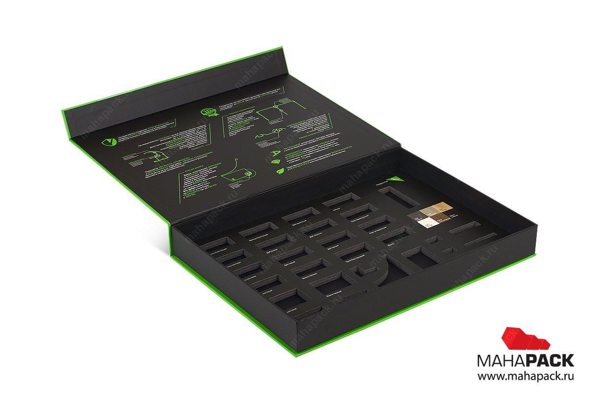 каталог образцов - упаковка на магните