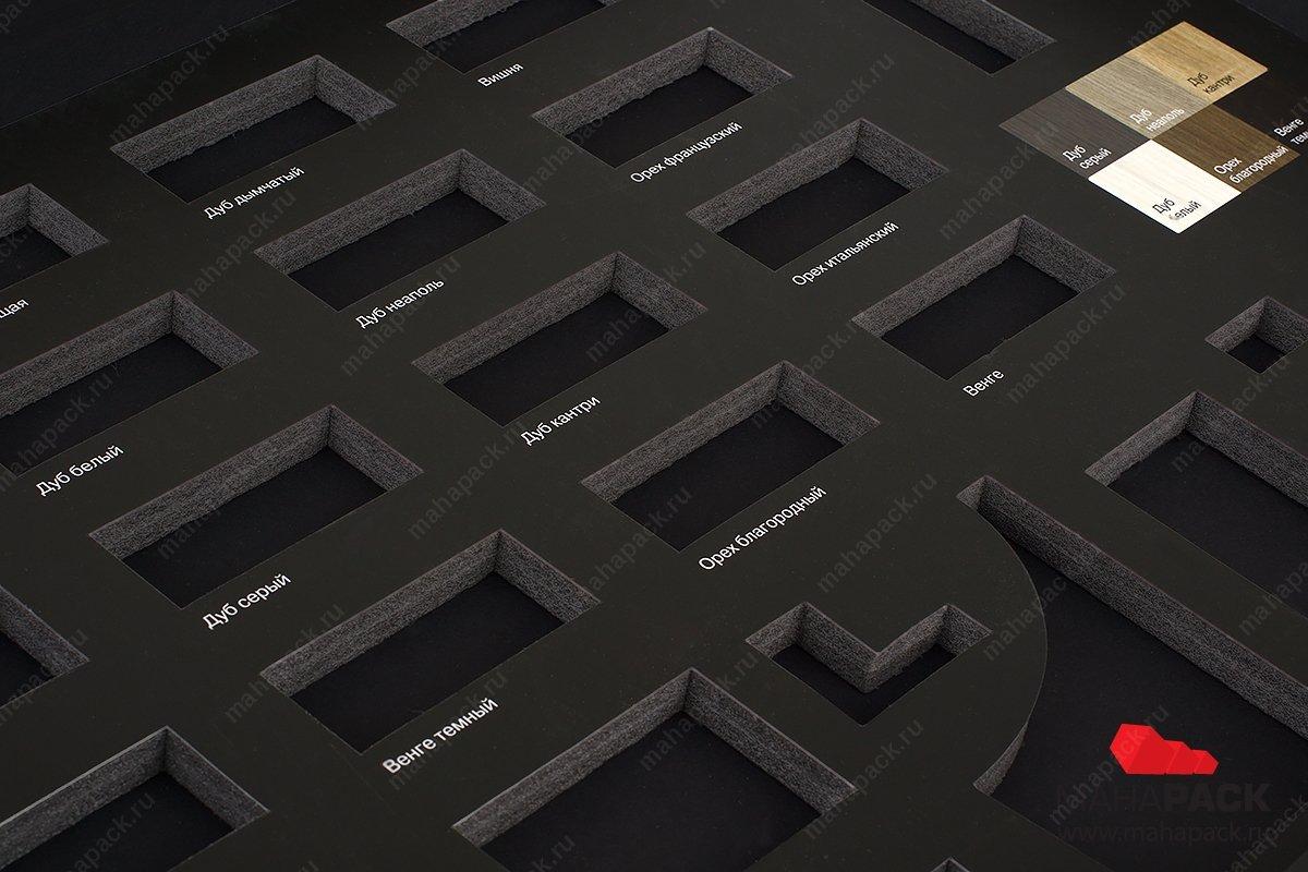 папки и коробки для образцов с изолоновым ложементом