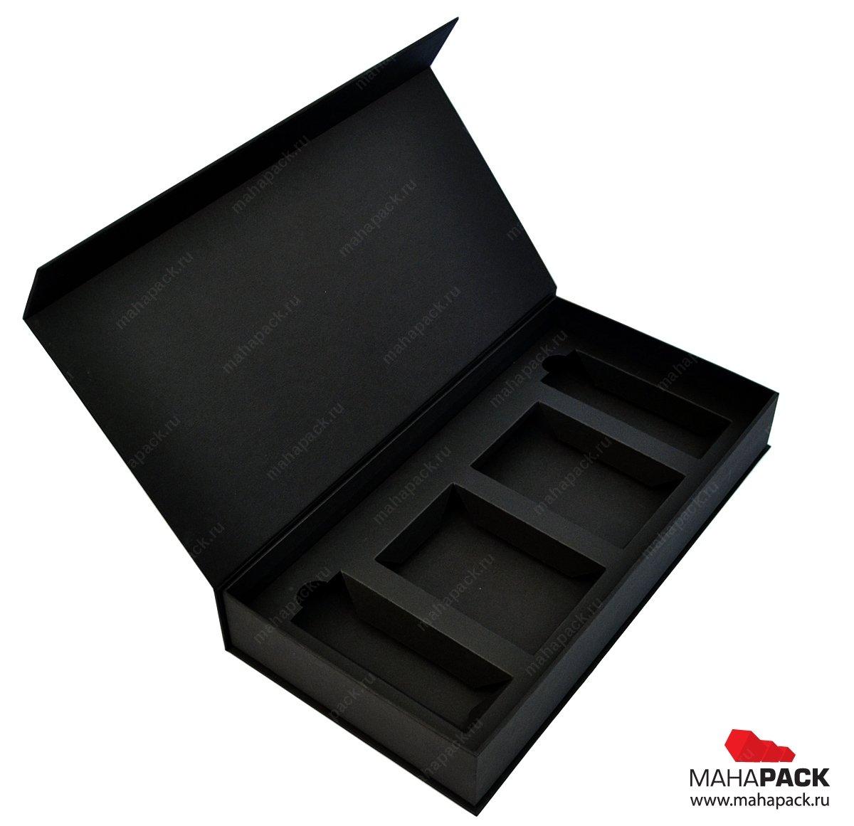 Подарочная коробка для сувениров на выставку