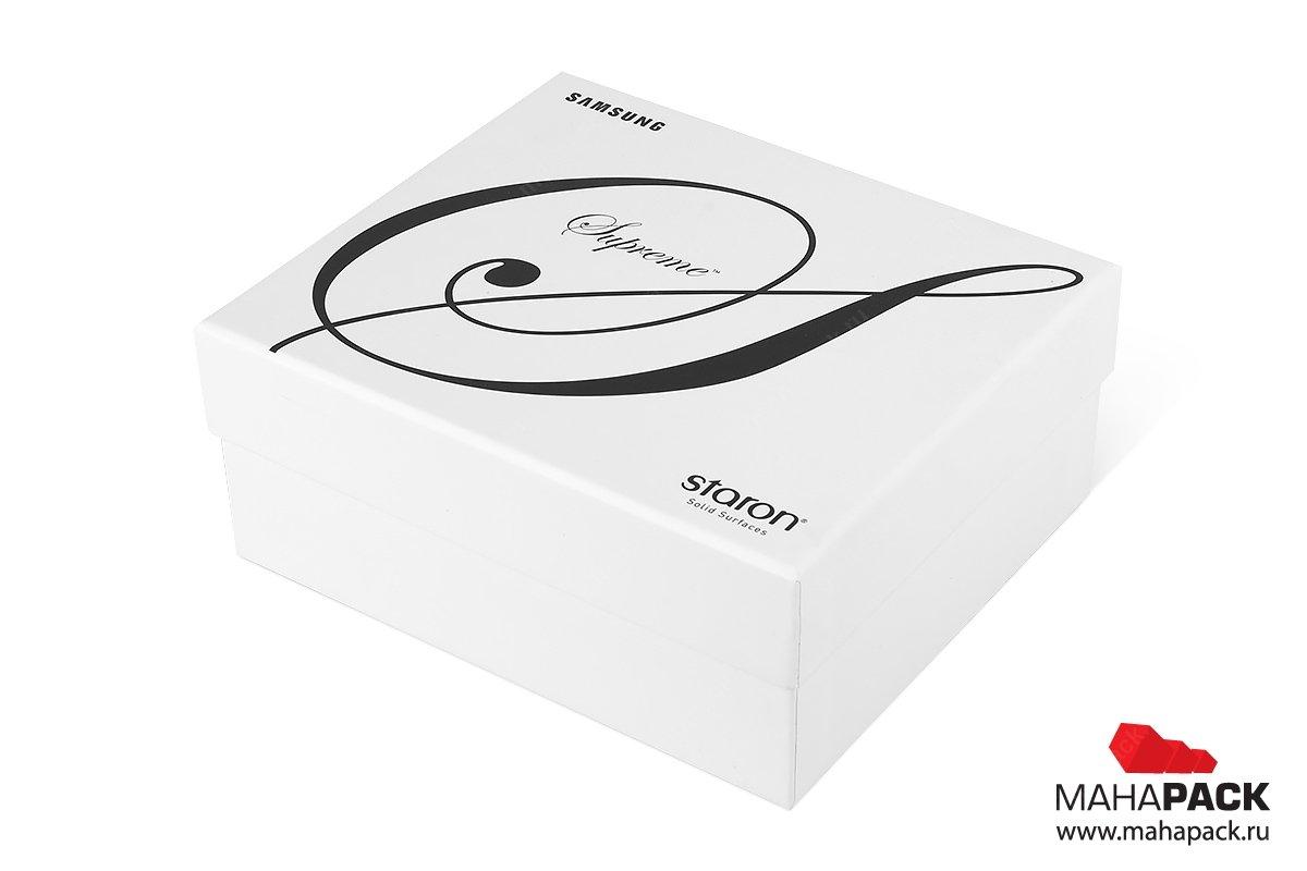 кашированная коробка как каталог образцов