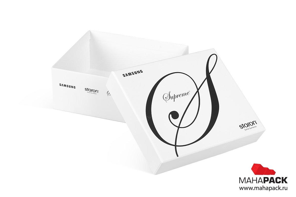 коробки крышка-дно и портфели для образцов