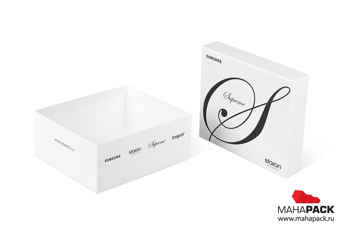 коробки с крышкой для образцов плитки