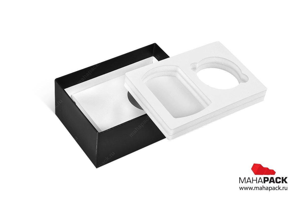 печать коробок с съемным ложементом