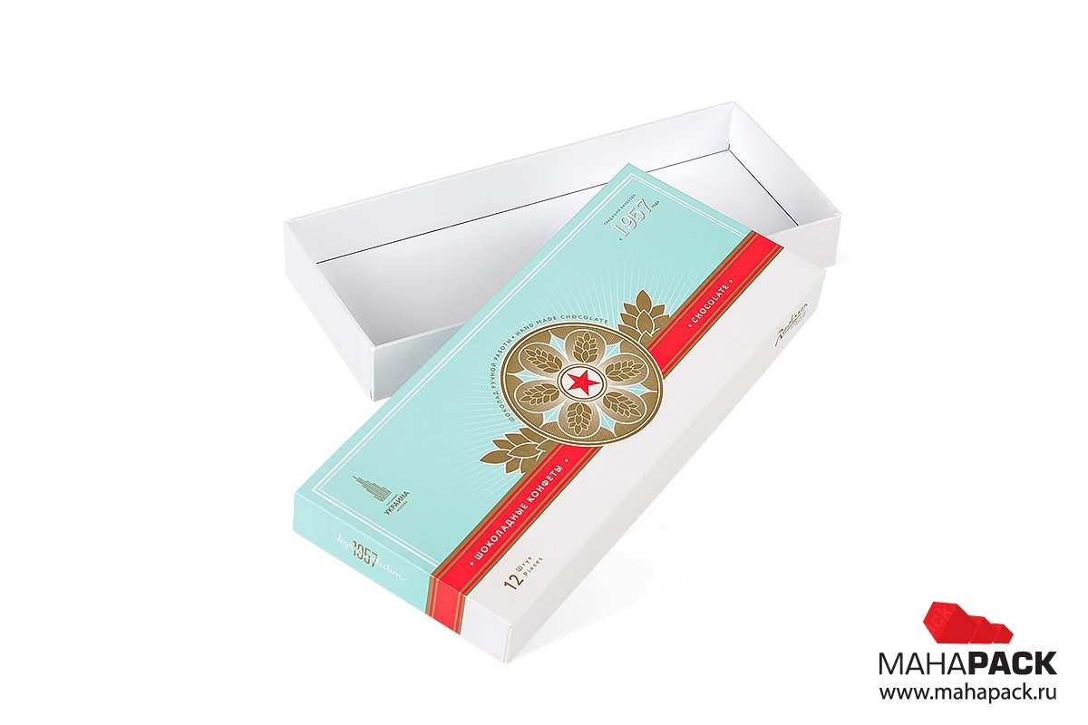 заказать подарочные коробки для шоколада