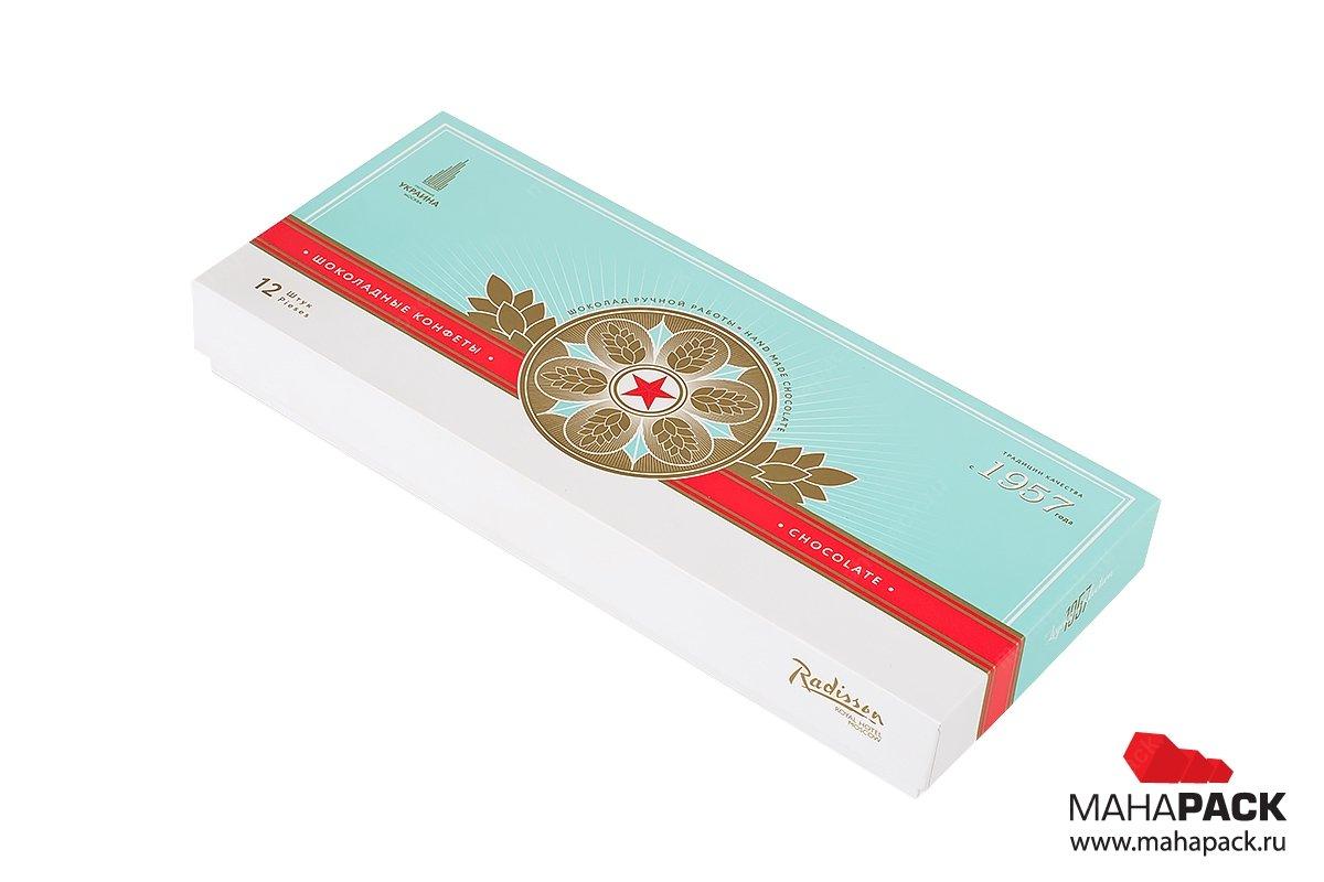 изготовление подарочной упаковки для шоколада