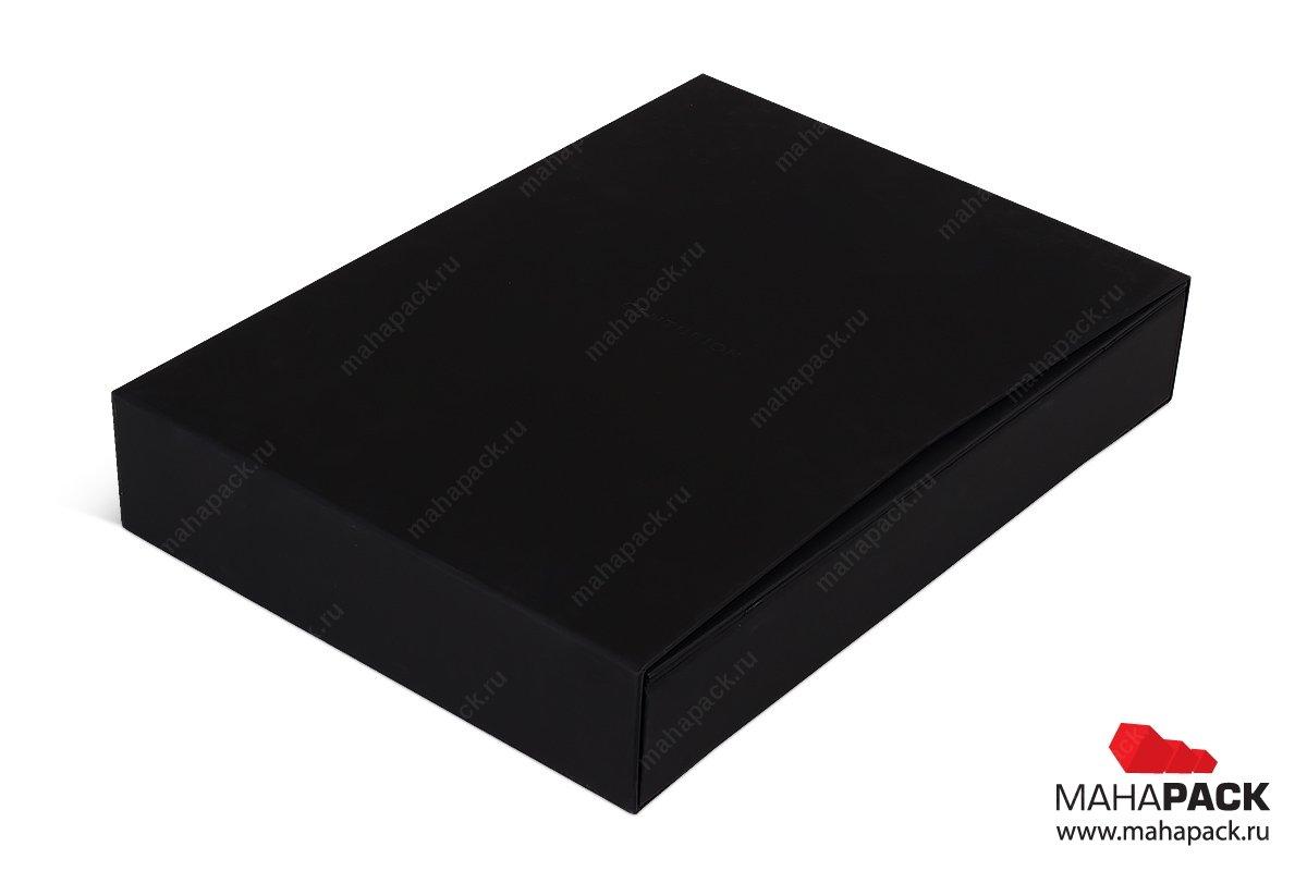 кашированная упаковка для подарочных карт в футляре