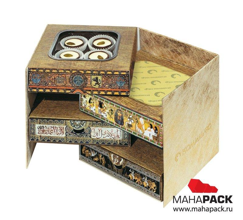 Коробка-трансформер для конфет