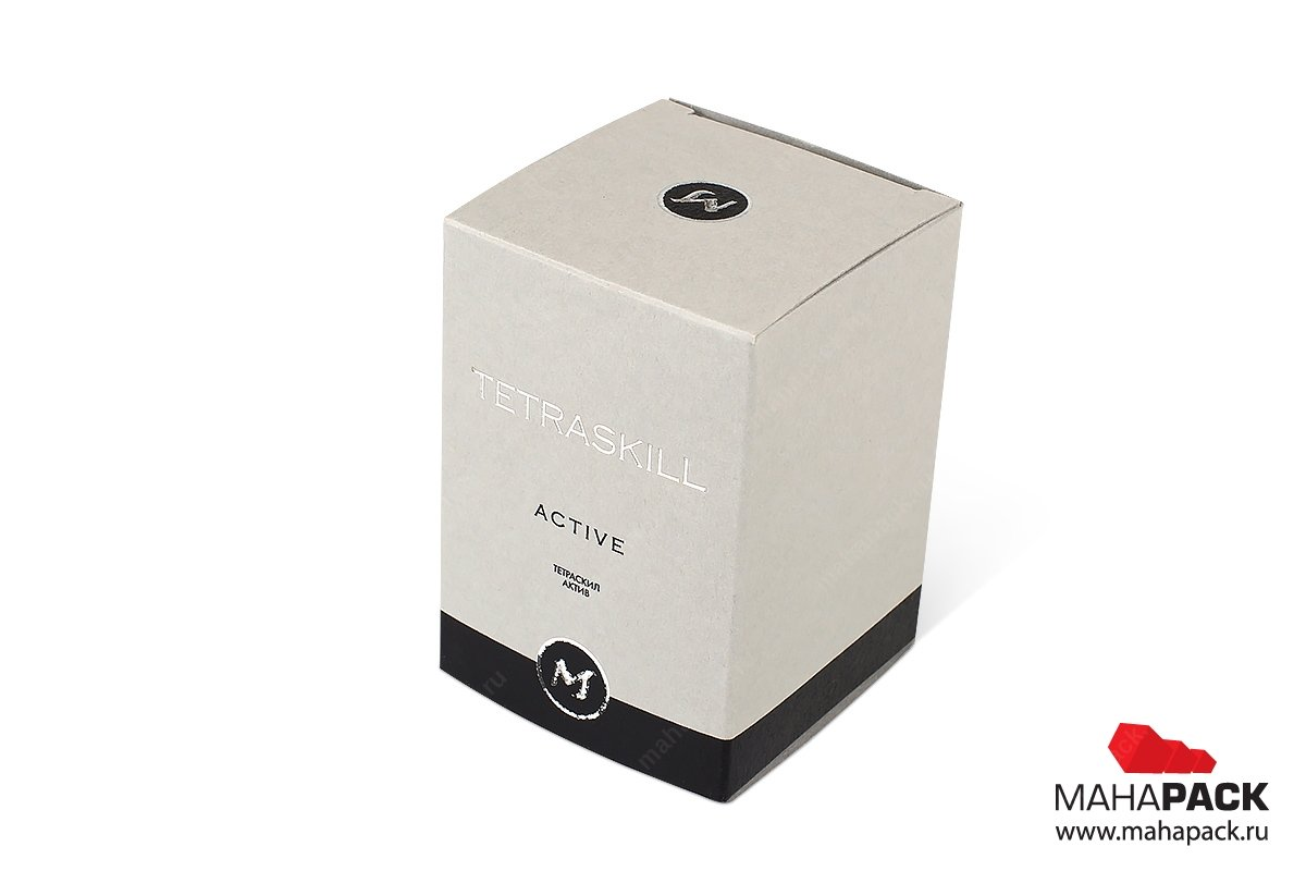 картонная упаковка на заказ - разработка и печать